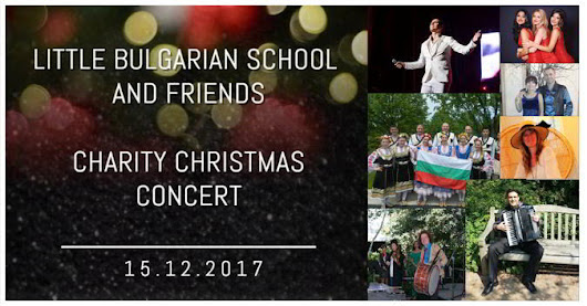 Little Bulgarian School & Friends Charity Christmas Concert - Chicago