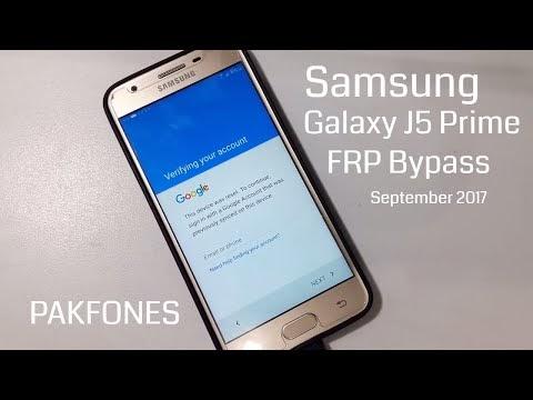 Frp Fix Frp Bypass Solutions Samsung J5 Prime Frp
