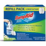 Damprid Fg97 Drop-in Tabs Moisture Absorber Refills, Fresh Scent, 15 Oz, 2-count