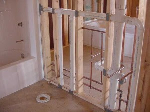 Plumbing Rough In For Bathroom Home Designs Inspiration