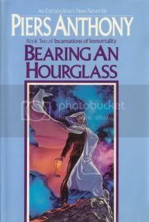 Bearing an Hourglass (Incarnations of Immortality - Book 2)