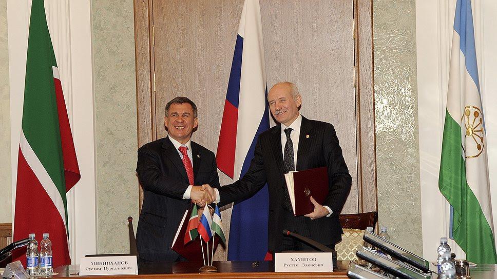 В Башкирии, в отличие от Татарстана, уже согласились исключить слово «президент» из названия должности руководителя региона