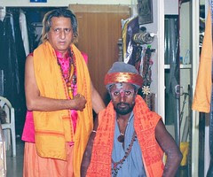 He is a Naga Sadhu and I Am a Dam Madar Malang by firoze shakir photographerno1