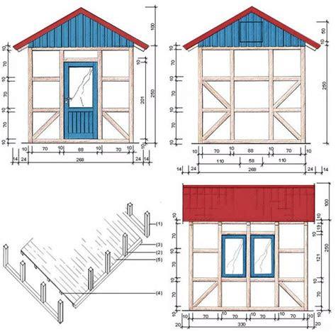 bauanleitung gartenhaus  fachwerkbauweise gartenhaus