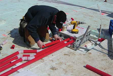 Training for Insulated Slab-on-Grade Foundation Forms + Radiant Heated ICF Floors LEED Passive ZNE