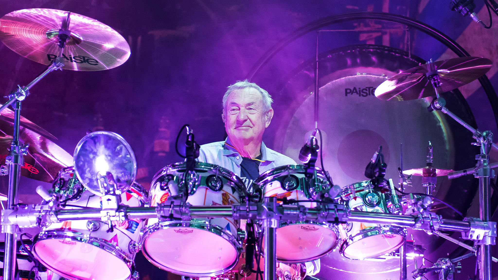 Pink Floyd S Nick Mason I Was Buggered If I Was Going To Be The