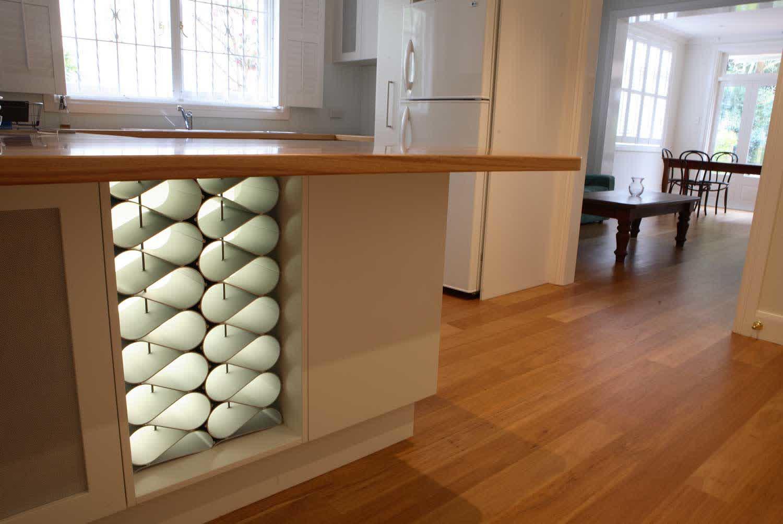 Kitchen Island with Wine Rack Design Options - HomesFeed