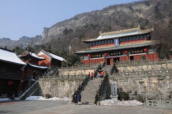 Resultado de imagem para Edificações Antigas nas Montanhas de Wudang