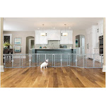 Carlson 2-in-1 Plastic Gate and Pet Pen