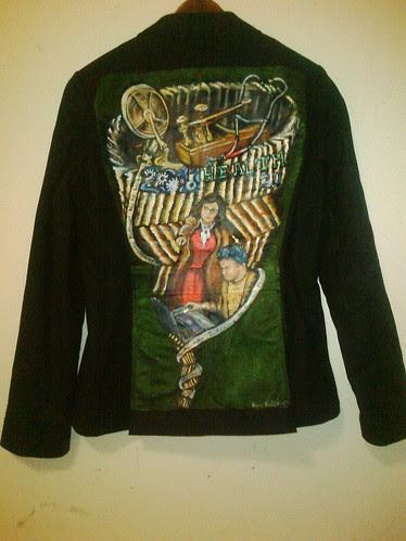 Lizzie's Jacket: Steampunk Health 2.0