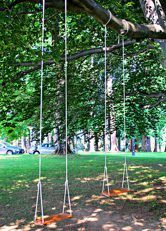 Rope Swings at the Cranwell Resort, Spa, and Golf Club