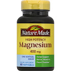 Nature Made High Potency Magnesium Liquid Softgels - 60 count