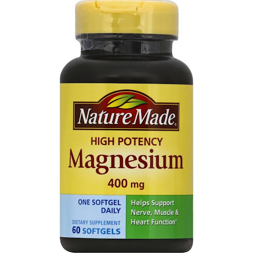 Nature Made High Potency Magnesium Liquid Softgels - 60 count
