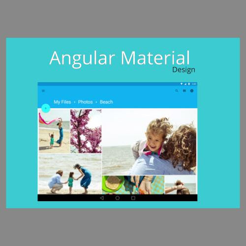 Introducing Angular Material Design by Thomas Burleson