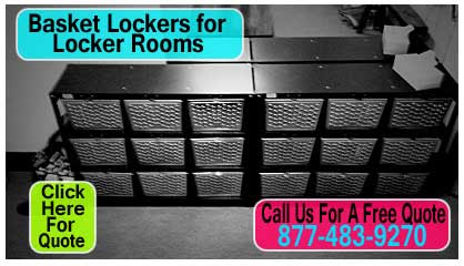 Commercial Basket Lockers For Locker Rooms For Sale - Made In USA | XPB Offers Lockers, Restroom Partitions, Sinks, Accessories & More - 877-483-9270