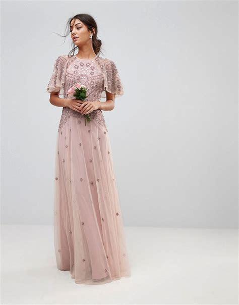 Lyst   Asos Wedding Iridescent Delicate Beaded Flutter