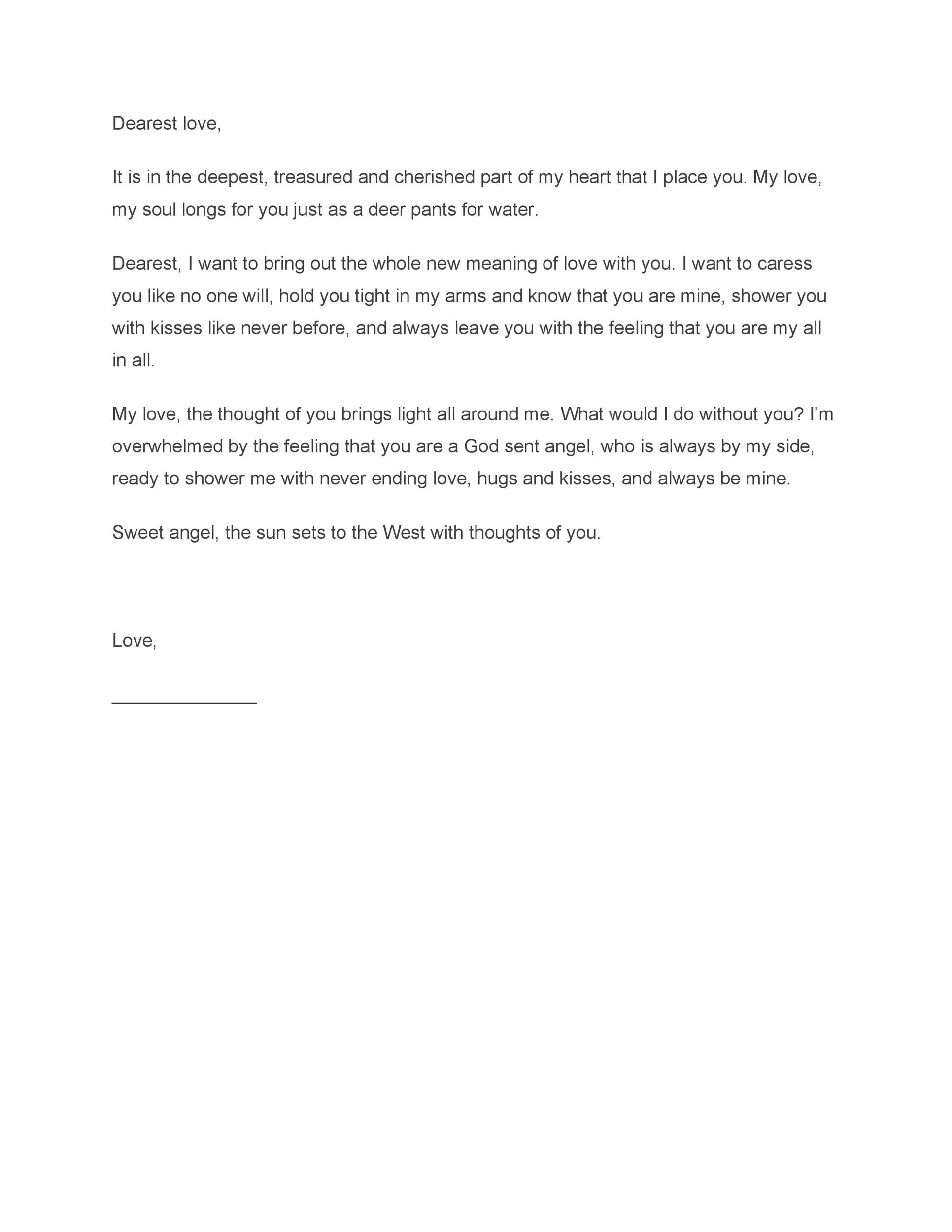 Endings To A Letter from lh3.googleusercontent.com
