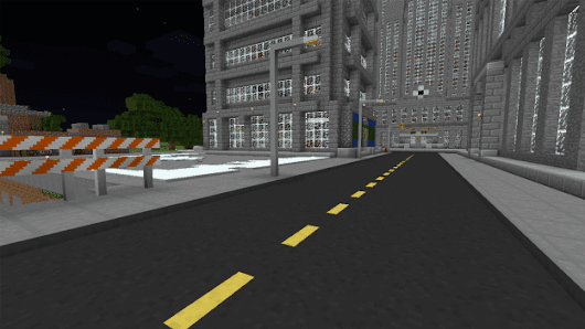 Road Mod for Minecraft (1.9.2/1.9/1.8.9)