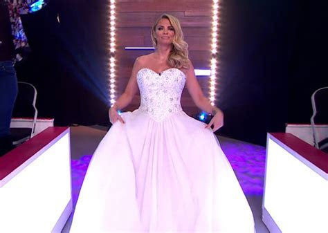Katie Price wears WEDDING dress on Loose Women (and takes