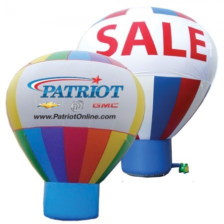 Obtain these 3 marvellous benefits by using giant advertising balloons