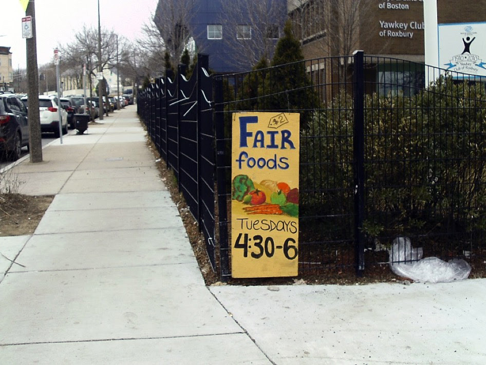 Example of a positive photovoice narrative on food assistance programs. The picture of the sign lets me know there are healthy food options in my neighborhood that are inexpensive, which is encouraging and promising.