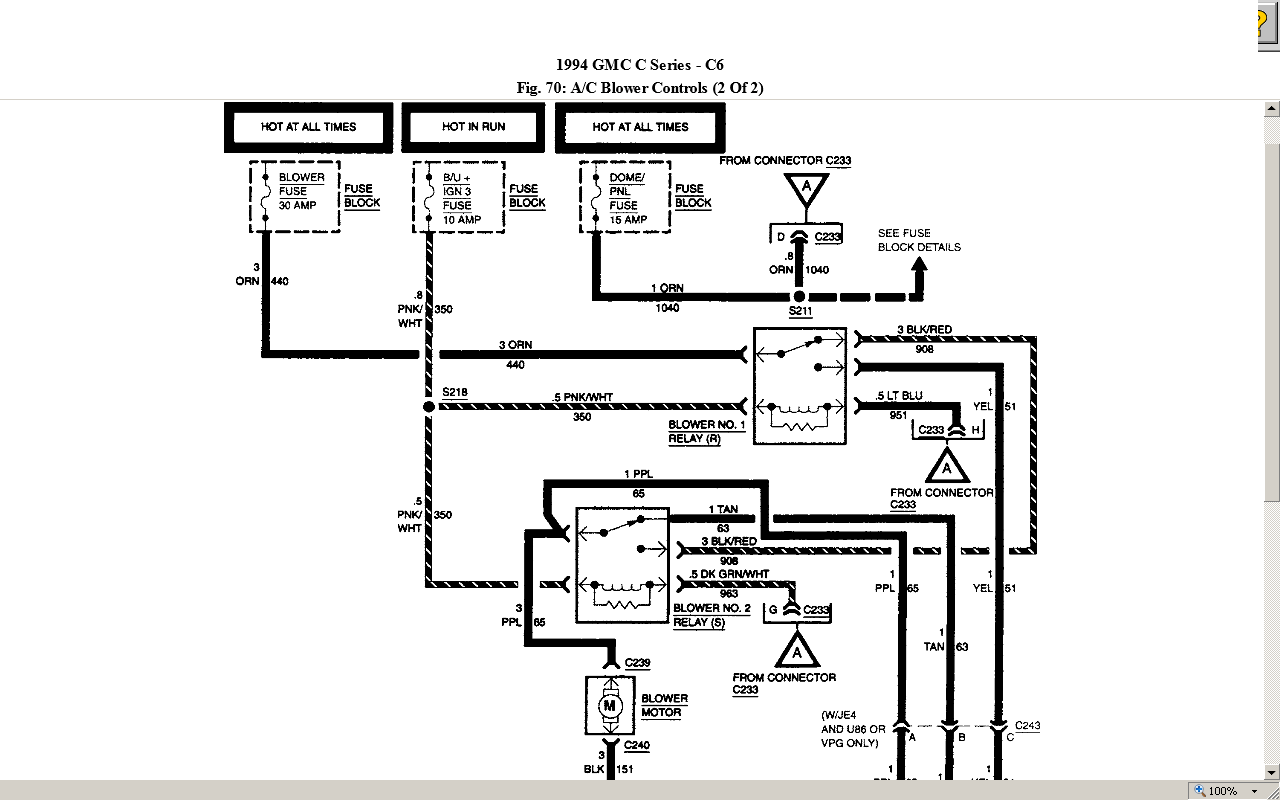1996 Chevy Topkick Wiring Diagram