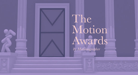 Les Motion Awards 2017 par Motionographer - Blog de l'école 3D e-tribArt