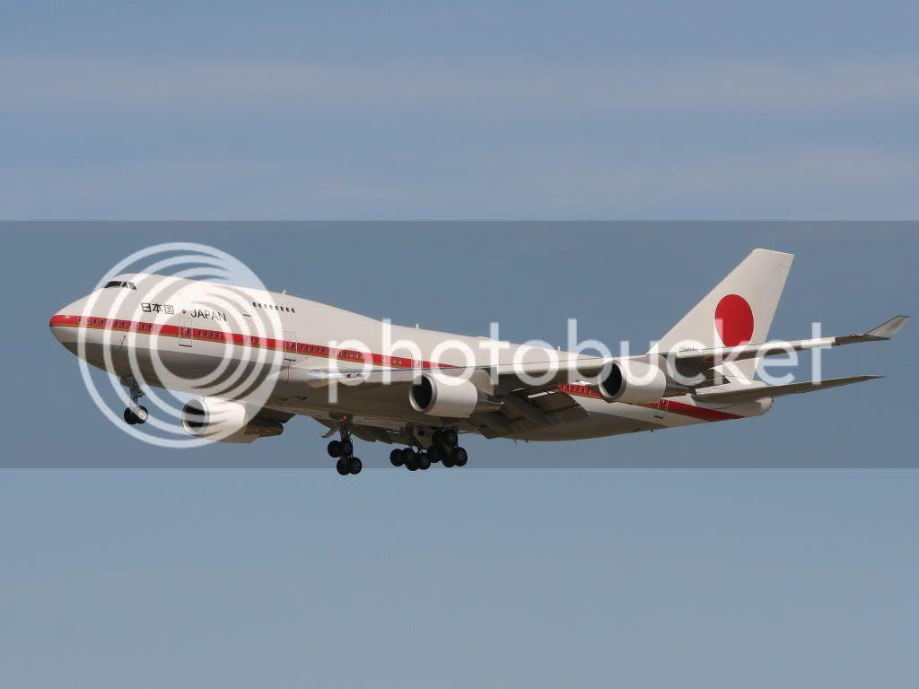 Yvr特別客人 日本航空自衛隊波音747 400 航空 C2 Hkitalk Net