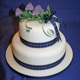 Thistle Spray Scottish Thistle Wedding Cake Topper