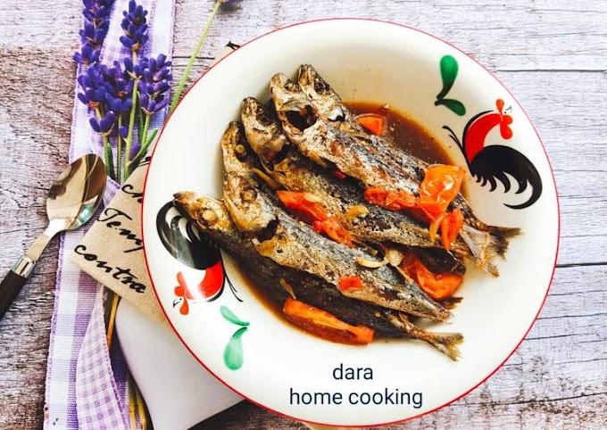 Resep Tumis Ikan Sarden Bumbu Iris Cita Rasa Tinggi
