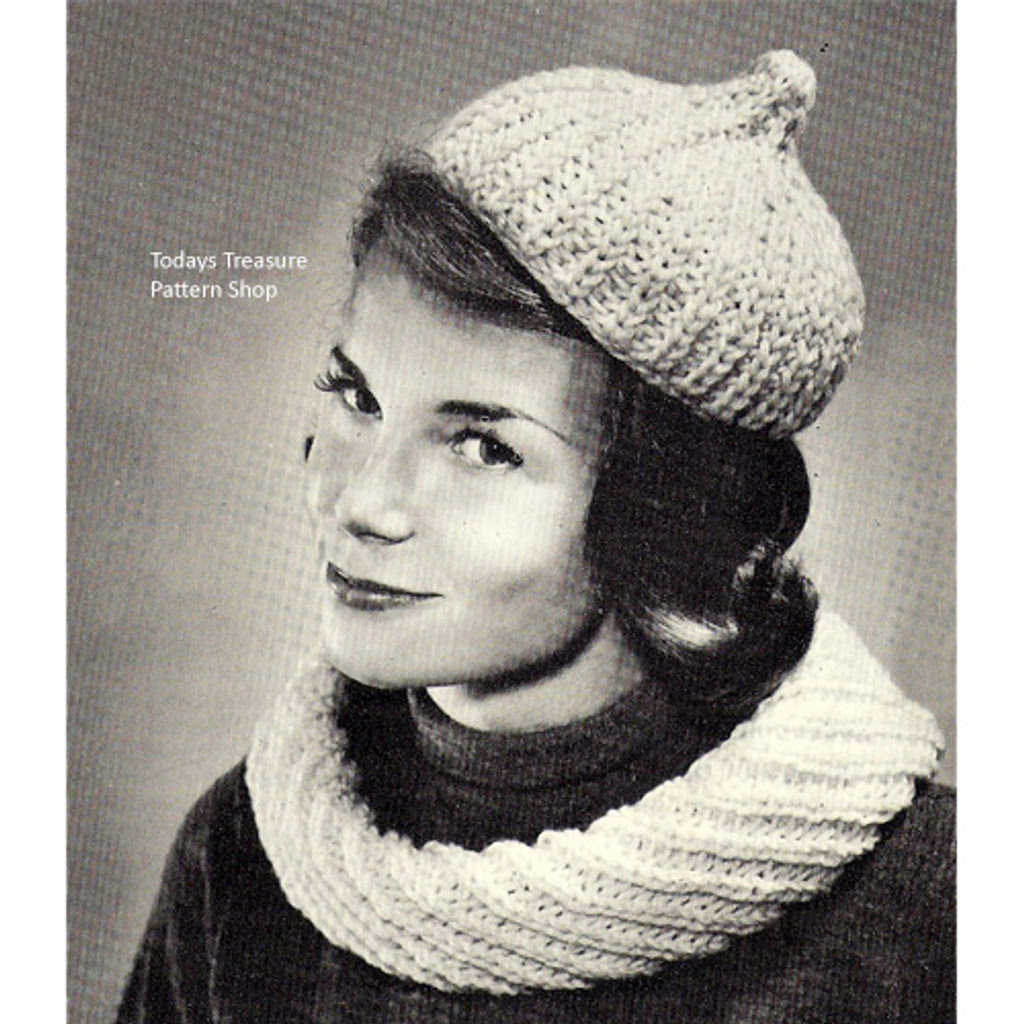 Knitted Cowl Collar Pattern