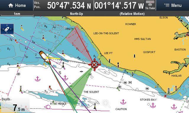 Route de navigation 1/5 - Choisir sa route