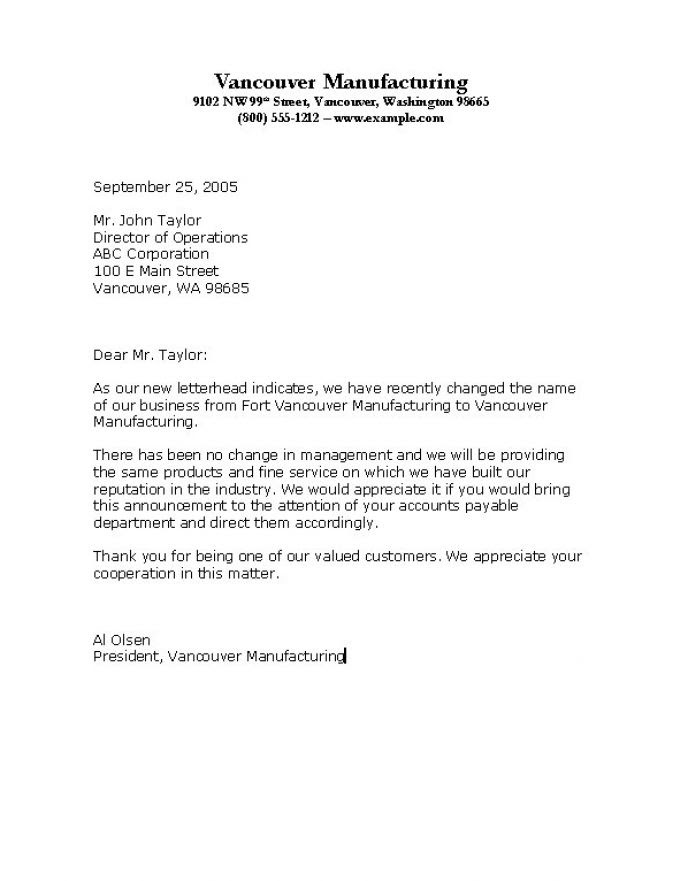 How to write a business letter sample pictures 3