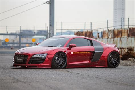 Liberty Walk Dresses Up First Gen Audi R8 Carscoops.com