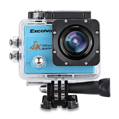 Excelvan Q8 4K 2 inch Display WiFi Action Camera EU PLUG-44.28 Online Shopping| GearBest.com