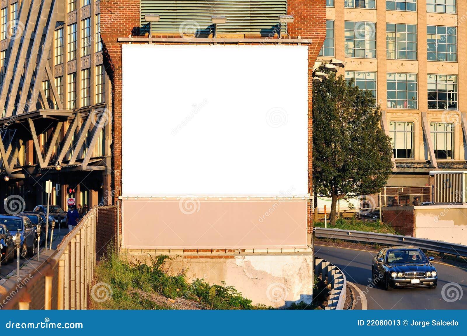 Square Billboard Stock Photos - Image: 22080013