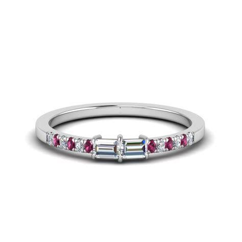 Heart Shape 2 Row Half Carat Diamond Engagement Ring In