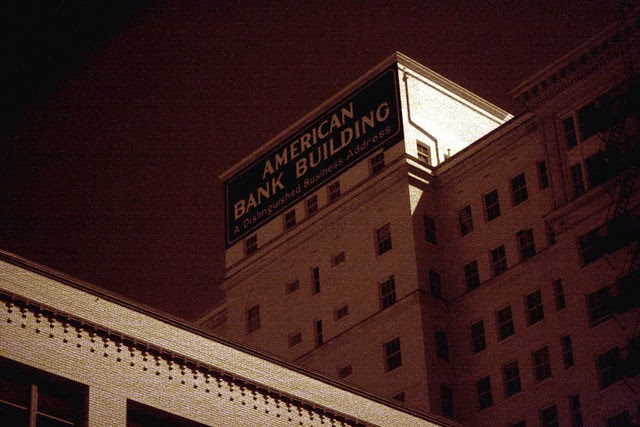 american bank building (infrared)