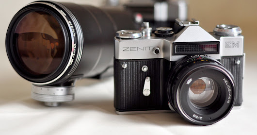The Russian Zenit Camera is Coming Back... to Battle Leica in Luxury