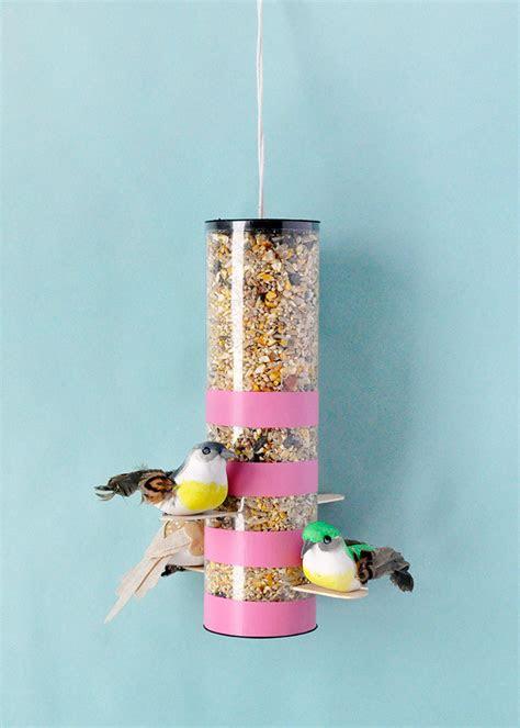 diy colorblock bird feeders handmade charlotte