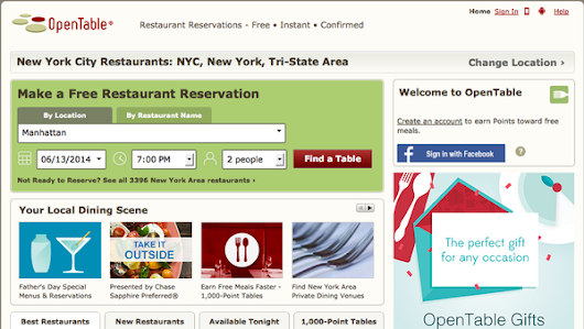 Priceline to Buy OpenTable for $2.6 Billion