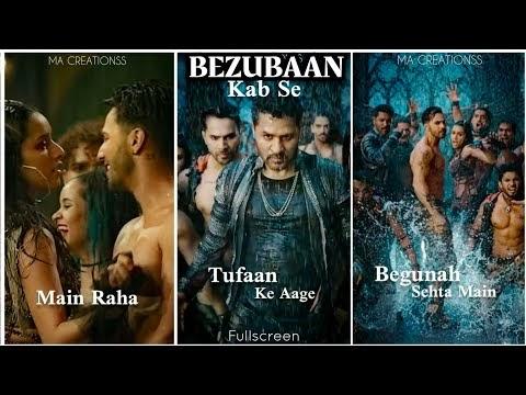 Bezubaan Kab Se fullscreen whatsapp status | Street Dancer 3D