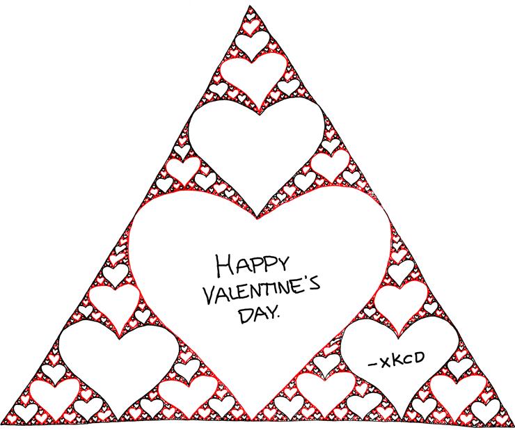 Sierpinski Valentine