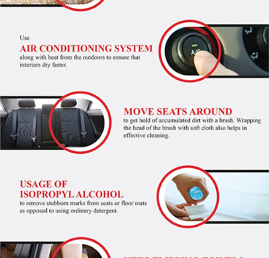 A Few Effective Hacks For Detailing The Interiors Of Your Car