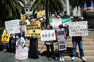 Syrian American rally for intervention