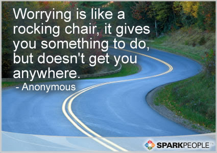 Best Ever Worrying Is Like A Rocking Chair Quote