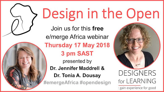 17 May: Design in the Open |