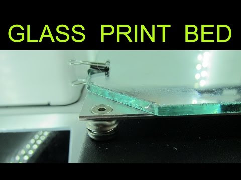 Glass Print Bed - For 3D Printer
