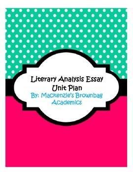 Rhetorical Analysis Essay Unit