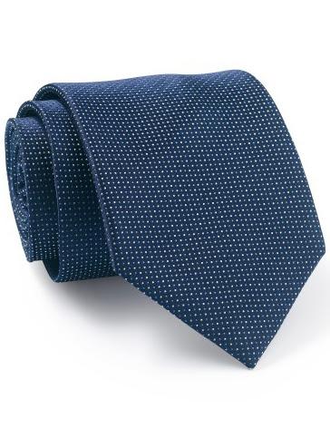 Mẫu Cravat Đẹp 26 - Đồng Phục Màu Đen Chấm Sao Trắng